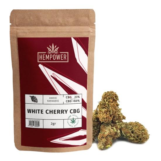 Hempower White Cherry 23% CBG 2gr