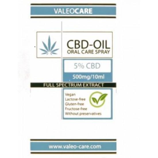 VALEOCARE Full Spectrum CBD Oil 5% - 10ml