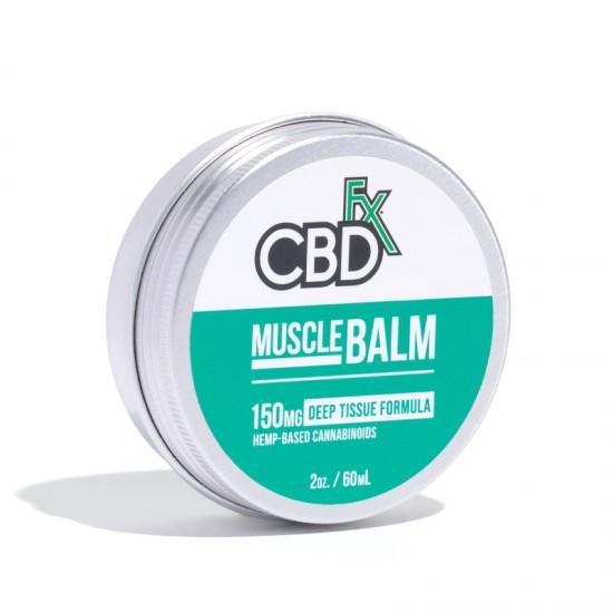 CBDfx Hemp CBD Muscle Balm (deep tissue) 150mg / 60ml