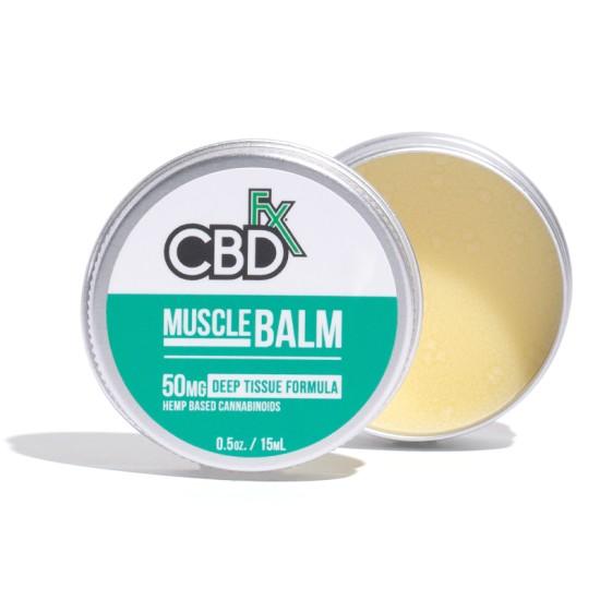 CBDfx Hemp CBD Muscle Balm (deep tissue) 50mg / 15ml