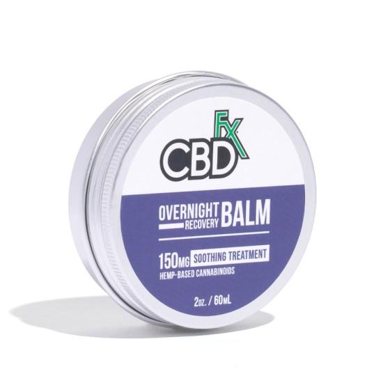 CBDfx Hemp CBD Overnight Recovery Balm (soothing) 150mg / 60ml