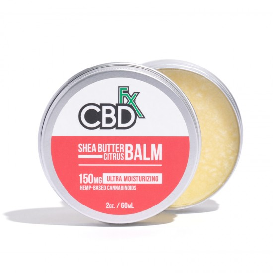 CBDfx Hemp CBD Shea Butter Citrus Balm (ultra moisturizing) 150mg / 60ml