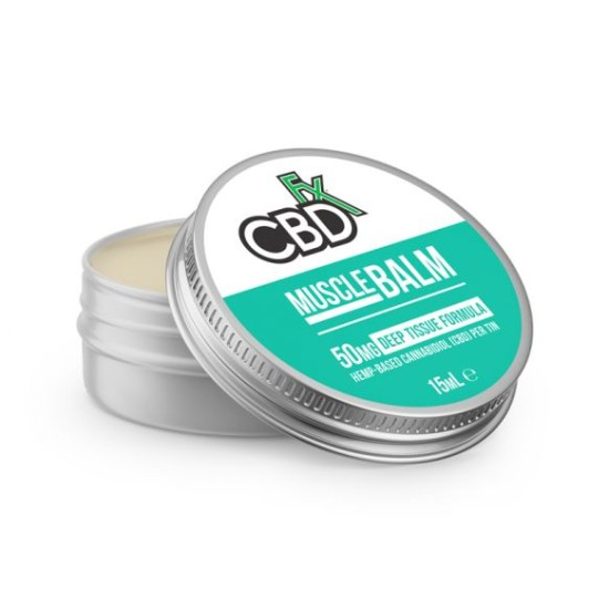 CBDfx Hemp CBD Muscle Balm (deep tissue) 50mg / 15ml