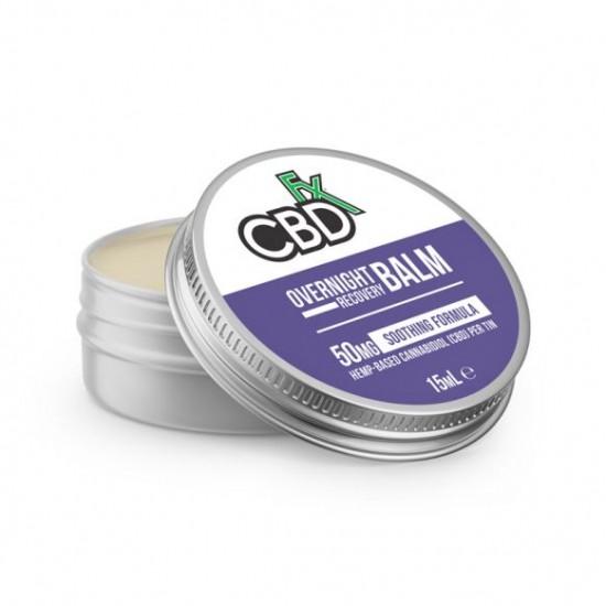 CBDfx Hemp CBD Overnight Recovery Balm (soothing) 50mg / 15ml