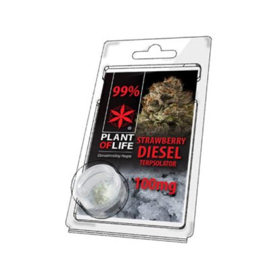 Plant of Life 99% CBD Crystal STRAWBERRY DIESEL 0.1G